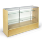 showcases made from maple melamine