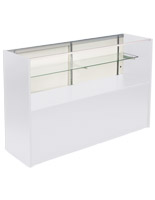 White Boutique Checkout Counter