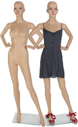 Full Size Female Mannequin with Hands on Hips