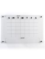 36 x 24 Lightweight 30-day calendar whiteboard