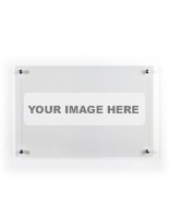 36 x 24 Clear custom printed dry erase board