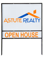 Real Estate Sign Frame
