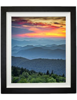 "Ready to Hang 30"" x 40"" Mountains Print"