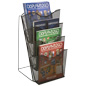 Mesh Counter Magazine Rack for Organizing Reading Materials
