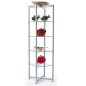 Attractive Glass Tower Shelves
