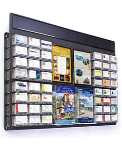 Multi-Pocket Calling Card Dispenser