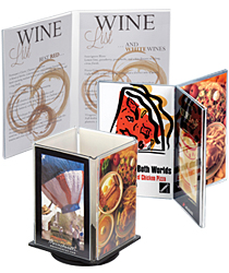 Multi-Panel Table Tents