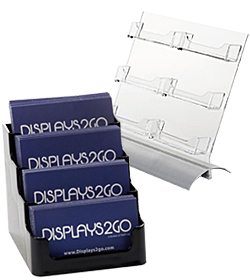 Multi-Pocket Business Card Holders