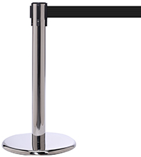 Museum Stanchions Low Profile Car Show Posts And Belts - Car show barriers