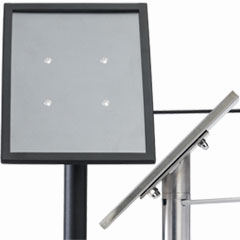 Stanchion & Rope Sign Frames and Accessories