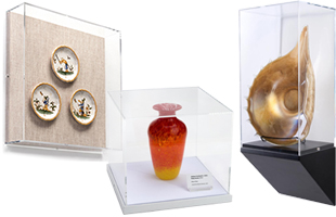 Wall and Countertop Museum Display Cases