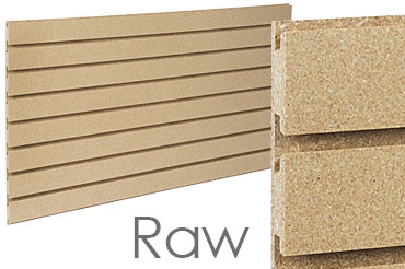 Raw Slatwall Panels