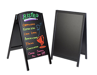 Chalk & Marker Boards Include LED, Tabletop & Easel Styles