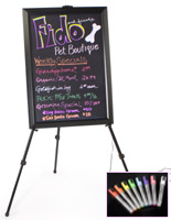 Fluorescent Marker displays