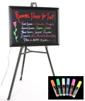 Neon Writing Board with Lighting Effects