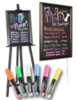 Neon Marker Boards