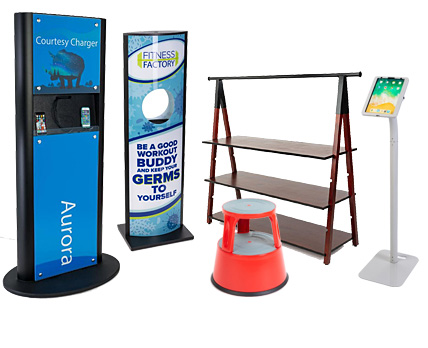 Check out newly launched products from Displays2go!
