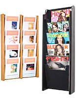 Wall Mounted Wooden Magazine Racks