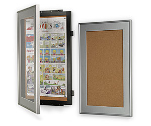 Newspaper Display Frames