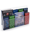 Clear Lucite Brochure Holder