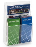 Clear Brochure Rack Holder
