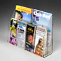 wall mounted holder fit 8-1/2 x 11 or 4 x 9 pamphlets.