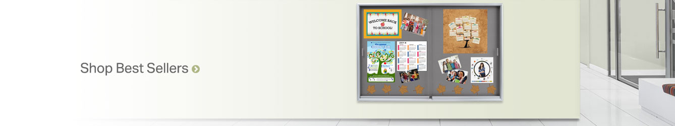 Message & Notice Boards by Size and Surface Type