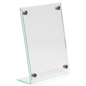 Countertop Professional Acrylic Sign Holder