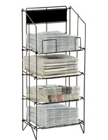 Metal Newspaper Stand