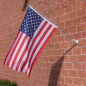 Patriotic American Flag and Pole Set