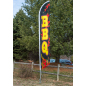 "Advertising ""BBQ"" Banner Flag"