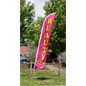 Outdoor Beauty Salon Flag