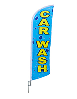 Car Wash Flags