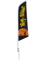 14' tall seasonal Halloween outdoor flag