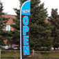 Now Open Flag