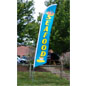 Seafood Flag with Fade Resistant Message