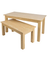 Ash Wooden Display Tables