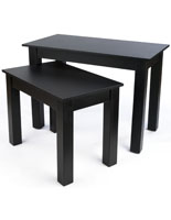 Black Retail Nesting Table