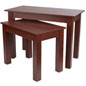 Cherry Wood Nesting Tables for Merchandise