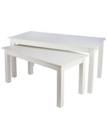 "72"" Wide Large Nesting Table"