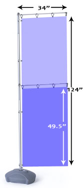 outdoor flag pole stands