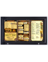 Outdoor Menu Case