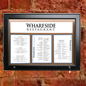 LED Corkboard Menu Box