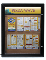 Outdoor Menu Cabinet