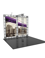 Orbital Express Pluto modular 10ft trade show booth display kit