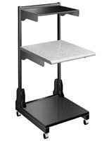 Medical Laptop Cart with 4 Casters