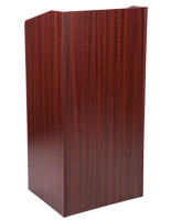 Mahogany collapsible podium