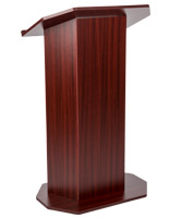 Mahogany wood affordable lectern