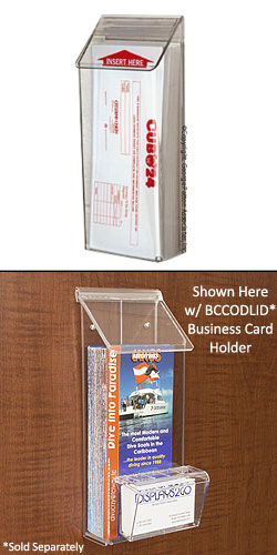 Outdoor Brochure Holder Flyer Display Box For Use Outside