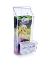 Clear Outdoor Flyer Dispenser
